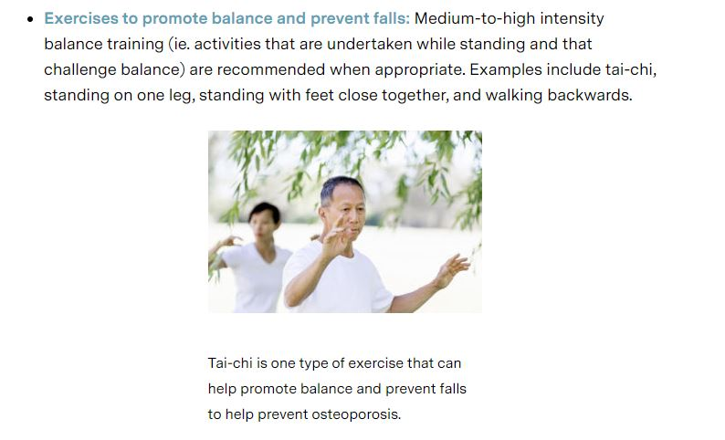 Tai-chi is one type of exercise
