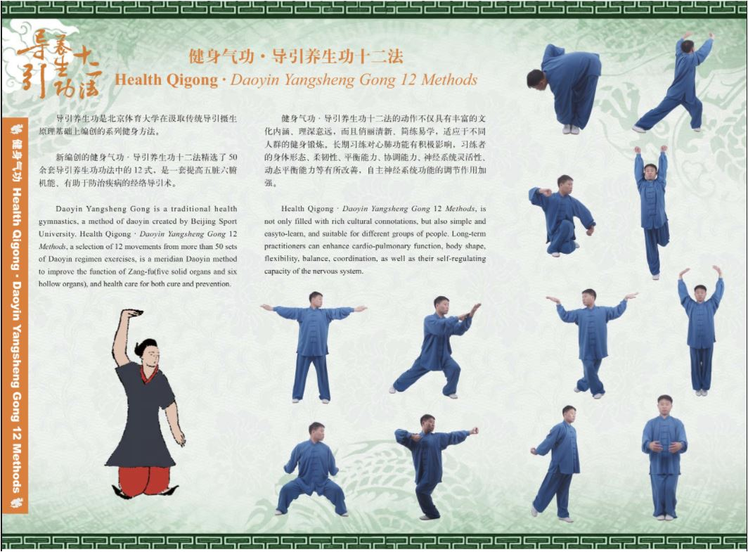 Daoyin Yangsheng Gong Shi Er Fa - 12 Movement Exercise